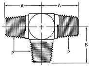 AEROQUIP 2257-4-4S