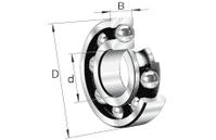 FAG 6003-C3 Rillenkugellager, einreihig 35 / 17 x 10 mm