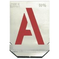Buchstaben-Schablonen, 40 mm