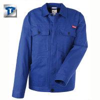 Berufbekleidung Bundjacke Baumwolle, kornblau, Gr. 24-29, 42-64, 90-110 Version: 98 - Größe 98