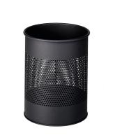 Durable 3310-01 15 L Round Metal Black