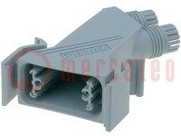 Behuizing: voor D-Sub connectoren; D-Sub 9pin, D-Sub HD 15pin