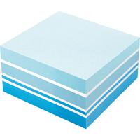 Soennecken Haftnotizwürfel Farbmix Brilliant 75 x 75 mm (B x H) blau, weiß 400 Bl.