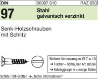 Holzschrauben 2,5x30