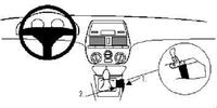 Brodit Fahrzeughalter ProClip für Fiat Brava 95-02
