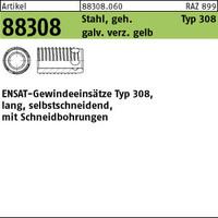 ART 88308 ENSAT Stahl gehärtet M 4 gal ZnC, m. Bohrung, Typ 308 gal ZnC VE=S (100 Stück)