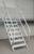 Aluminium-Treppe 45° 12Stufen