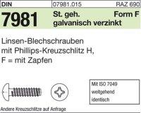 Blechschrauben F3,9x6,5-H