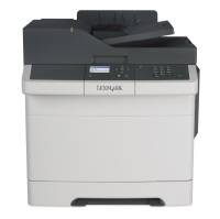 Lexmark CX310n - Multifunktion (Drucker/Kopierer/Scanner) - Farbe, Laser, USB 2.0, Gigabit LAN