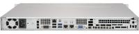 Supermicro SuperServer 1019S-MC0T Intel® C236 LGA 1151 (Socket H4) Rack (1U) Zwart, Metallic
