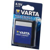 VARTA Batterie High Energy Flachbatterie, 4912