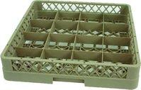 Detailabbildung - Korb mit 9 Einteilungen für Krüge, Gläser - 155 x 155 x 88 mm
