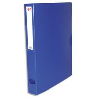5 ETOILES Bo�te de classement dos de 4 cm, en polypropyl�ne 78/10e bleu