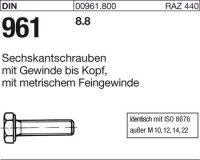 DIN961 M20x1,5x80