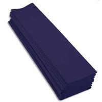 CLAIREFONTAINE Paquet 10 feuilles crépon M40 2X0.50m Bleu marine