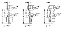 AEROQUIP 1A8FR6