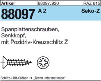 Spanplattenschrauben 4x60-Z