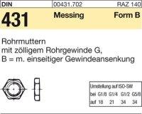Rohrmuttern BG1/4SW22