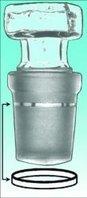 Dichtringe für Kegelschliffe PTFE, NS 14