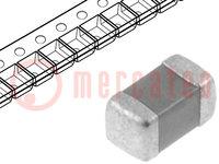 Condensatore: in ceramica; MLCC; 100nF; 25V; X7R; ±10%; SMD; 0603