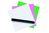 Legamaster Magic-Chart Notes sortiert, Polypropylen, blanko, 10x10 cm, 300 Stück