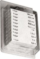 Sicherungssortiment 12 T 6,3x32 120 Feins. 60820