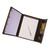 ALBA Conférencier CLAPRES PVC Noir. Mécanisme 4 anneaux diam 16mm. Porte-bloc, pochettes et porte-stylo