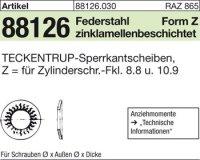 TECKENTRUP-Sperrkants. Z8x12,7x1,4