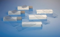 Microscope slides Type Without frosted end Description Extra white Edge finish Ground 45°