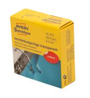 Verstärkungsringe im Spender, transparent, ø13mm, 500 ST