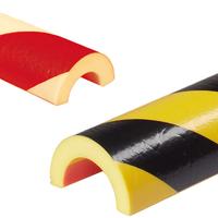 Modellbeispiele:, Rohrschutz -Protect - aus PU, oben: Art. 33284, unten: Art. 33287