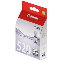 Canon Tintenpatrone PGI-520 BK, schwarz 19 ml
