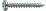 Dresselh. 4003530166136 4,5 x 17 SPAX-Schraubenmit T-STAR plusPan-Head galv. ver