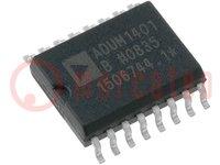 Digitális izolátor; általános felhasználás; 2,7÷5,5VDC; SMD
