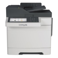 Lexmark CX510de - Multifunktion (Faxgerät/Kopierer/Drucker/Scanner) - Farbe, Laser, Duplex, USB 2.0, Gigabit LAN Bild 1