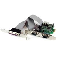 StarTech.com 2S1P Native PCI Express Parallele Seriële Combokaart met 16550 UART