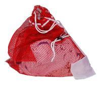 Robert Scott & Sons Drawstring Laundry Net Bag Nylon W620XD860mm Ref MWRDBR01L Red [Pack 10]
