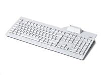FUJITSU Klávesnice KB SCR2 CZ/SK bílá - class 2 reader, USB 1.8m,