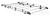 Dachgepäckträger aus Aluminium für Iveco Daily, Bj. 2000-2014, Radstand 3000mm, Laderaumvolumen 7,3m³ von Rhino