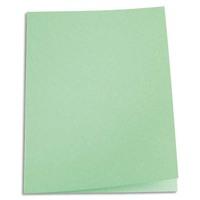 5 ETOILES Paquet de 100 chemises carte recycl�e 180 grammes coloris vert