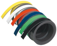 Magnetband, 100 cm x 10 mm, 1 mm, orange