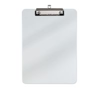 A4 Clipboard, plastic with nickelled clip