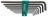 Stahlwille 96432601 10767 Kugelkopf-Winkelschraubendreher-Sätze Nr. 10767/9 1)