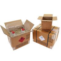 Gefahrgut-Karton 2-wellig, 570x370x430 mm, Inhalt 90 l, braun