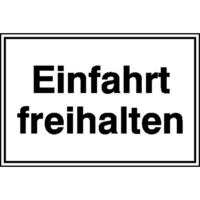 Modellbeispiel: Hinweisschild, Einfahrt freihalten, Art. 11.5227