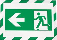 Magnetrahmen SECURITY A4 DURAFRAME grün/weiß