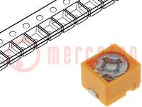 Trimmer: keramisch; 8,5pF÷40pF; SMD; geel; 100VDC