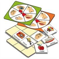 Atelier d'activité basé sur la connaissance des 5 sens, pour 1 à 5 joueurs de 3 à 7 ans
