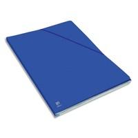 ELBA Chemise Eurofolio Alpina, dos de 1,5 cm, carte lustrée 5/10e bleu gitane