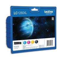BROTHER Value pack Jet d'encre 4 couleurs (1 Cyan+1 Magenta+1 Jaune+1 Noir) LC1280XLVALBP